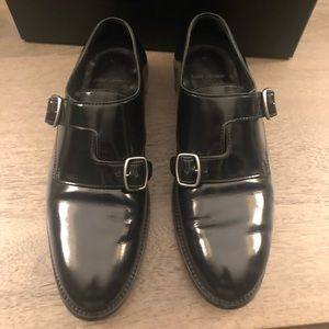 Saint Laurent Dare 25. Double, Crossed Monk-Strap